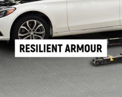 Resilient Armour Automotive Facility Floors