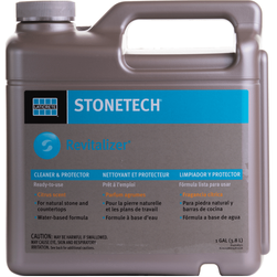 Laticrete Stonetech Revitalizer Cleaner and Protector Citrus Refill (ready to use), 1-Gallon