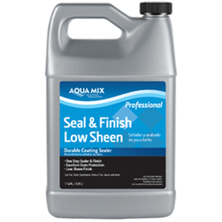 Aqua Mix Seal & Finish Low Sheen, Gallon