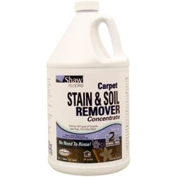 Shaw r2x® Carpet STAIN & SOIL REMOVER Concentrate, 1 Gallon