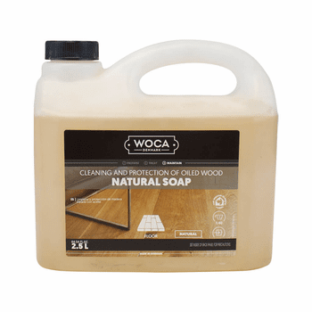 Woca Soap Natural concentrate, 2.5-Liter - for routine cleaning
