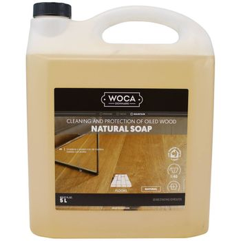Woca Soap Natural concentrate, 5-Liter - for routine cleaning