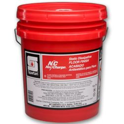 Spartan NO CHARGE STATIC DISSIPATIVE FLOOR FINISH 401305, 5 Gallon