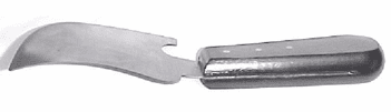 Spatula Knife with Bent Handle