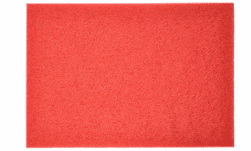 Square Scrub 20-inch Red Driver Pad (spacer/ light cleaning/ buffing)