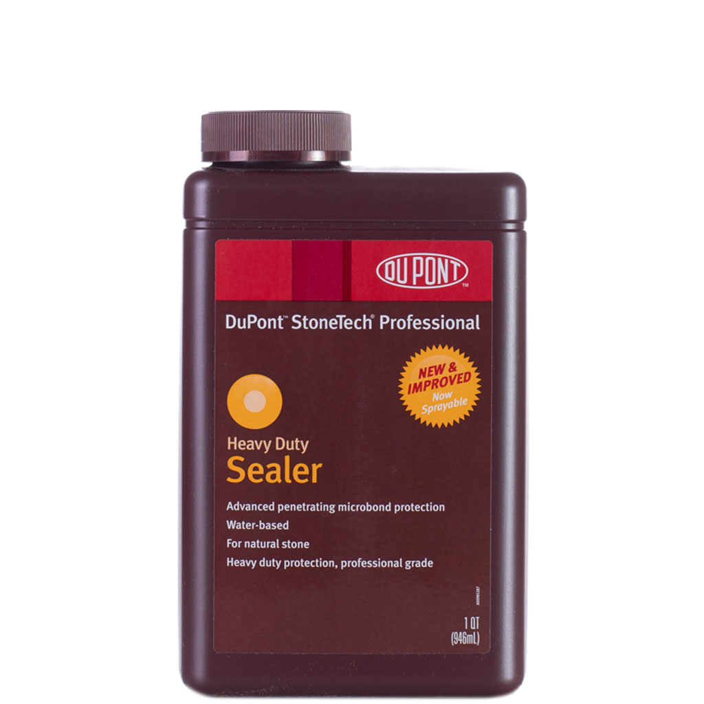 Dupont stonetech heavy duty sealer 1 quart clearance sale for Dupont exterior protection reviews