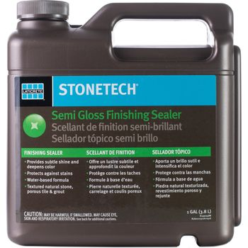 Laticrete StoneTech Semi Gloss Finishing Sealer, 1-Gallon