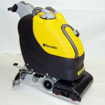 Tornado® BR 18/11 Automatic Scrubber | Wet-Acid Batteries and Charger