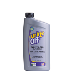 Urine-Off Carpet & Rug with Injector Cap, 32-Ounce