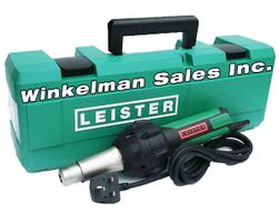 Winkelman & Leister Heat Weld Tools