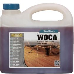 WOCA Colour Oil - Light Brown
