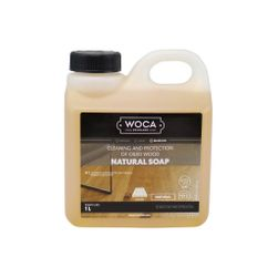 Woca Soap Natural concentrate, 1-Liter - for routine cleaning
