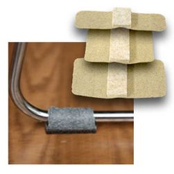 Wrap Around Felt Floor Savers™ BEIGE