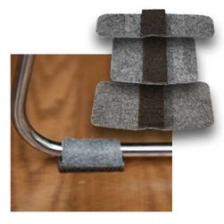 Wrap Around Felt Floor Savers™ GREY