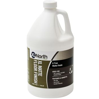 XL NORTH XL Matte Acrylic Floor Finish, 1 Gallon