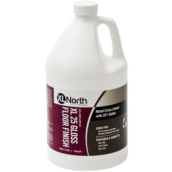 XL NORTH XL25 Gloss Acrylic Floor Finish, 1 Gallon