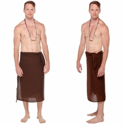 Brown Mens Sarong
