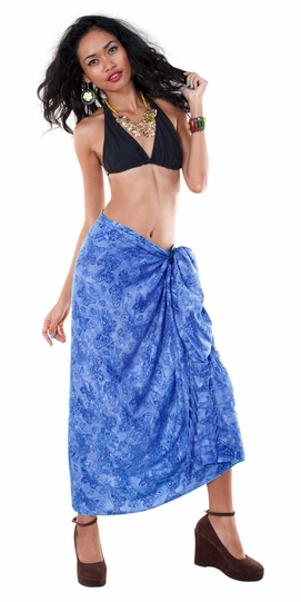 Butterfly Sarong in Blue