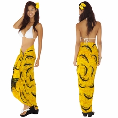 Dolphin Sarong Yellow - Final Sale - No Returns