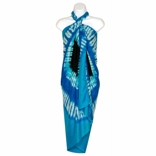 Double Blue Diamond Sarong - Final Sale - No Returns
