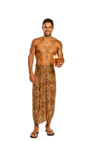 Mens Feline Sarong - Style 17