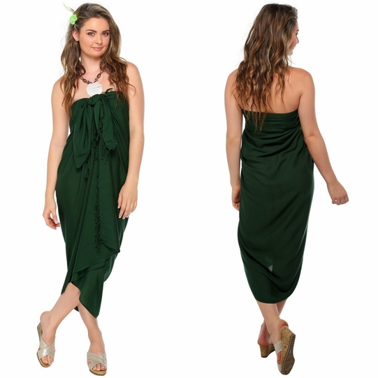 Forest Green Sarong