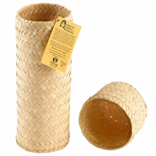 Hand Woven Cylinder Gift Box