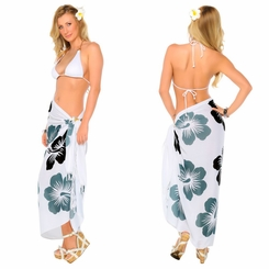"Hawaiian Sarong ""Black / Gray / White"" - Call to order"