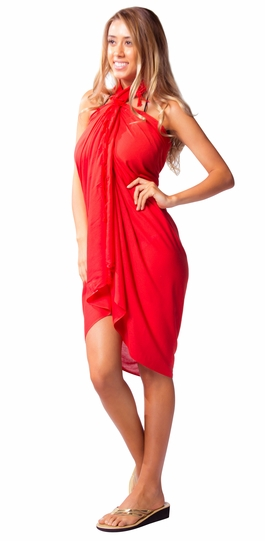 Hot Red Sarong