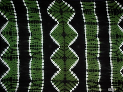Jungle Tie Dye Motif Extra Wide Neck Scarf, Wrap or Shawl - in your choice of color