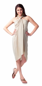 Light Mocha Color Sarong