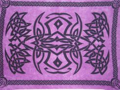 Mens Celtic Sarong in Purple