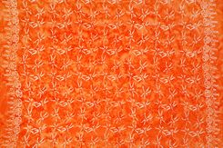 Mens Dragonfly Sarong in Orange