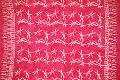 Mens Dragonfly Sarong in Pink
