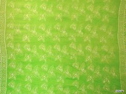 Mens Lime Green Butterfly Sarong