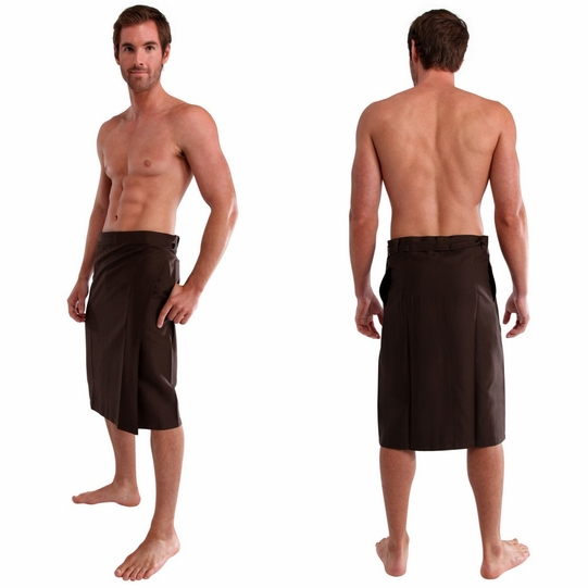 Mens Sulu in Brown