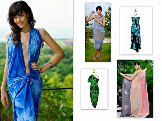 "PLUS SIZE SARONGS ""Luxury Plus"""