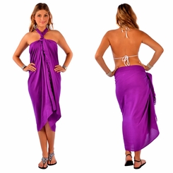 Purple Sarong 2 - Final Sale - No Returns