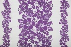 Sarong for Men Triple Lei Sarong in Light Purple/White