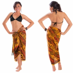 Sarong With Traditional Motif