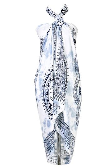 Volleyball Sarong in Gray
