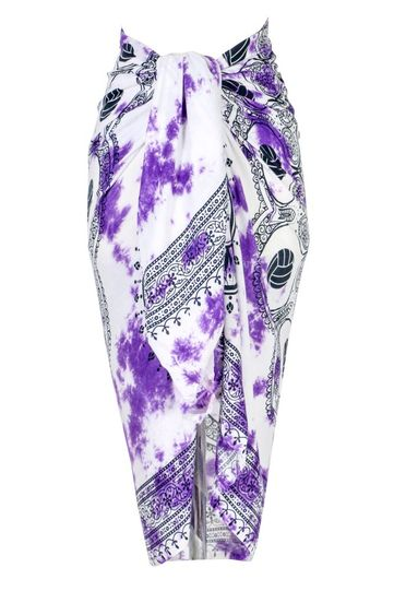 Volleyball Sarong in Purple