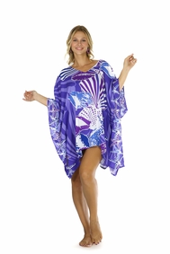 Seashell Kaftan Wanderlust Wendy Purple