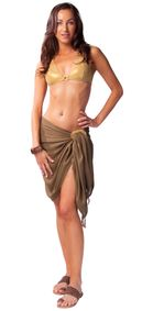 Light Brown Half Sarong
