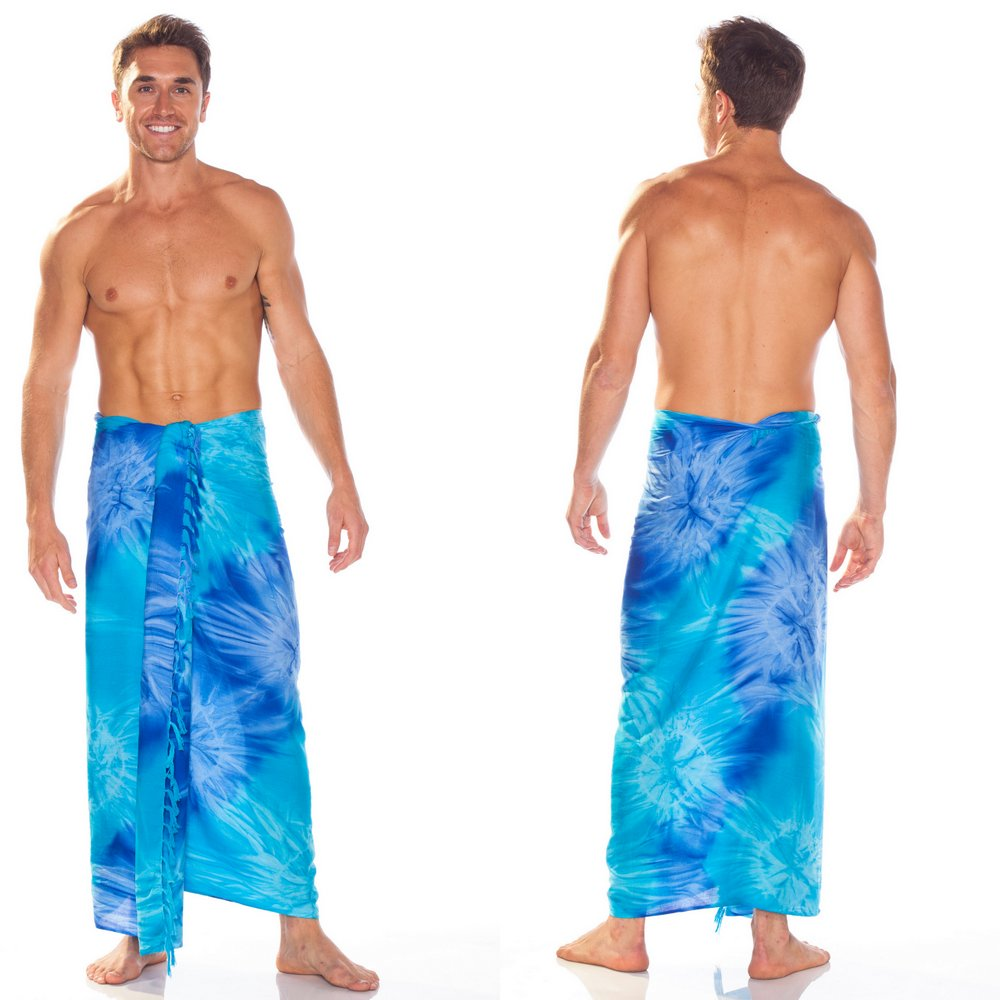how to wear a hawaiian sarong