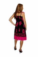 8b2ed01eb6 This sundress is perfect for your next occasion. Featuring a Hibiscus  flower print