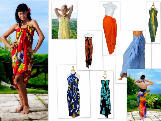 Women's Pot Luck Grab Bag of Sarongs - 20 Sarongs picked<br><br>Call for ordering details