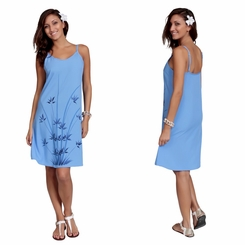 Womens Sundress - Bamboo Blue <B>FINAL SALE NO RETURNS</B>