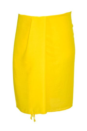 Yellow Half Mens Sarong