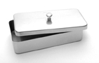 """Instrument Case with Lid (6.5"""" x 3.5"""" x 1.4"""")"""